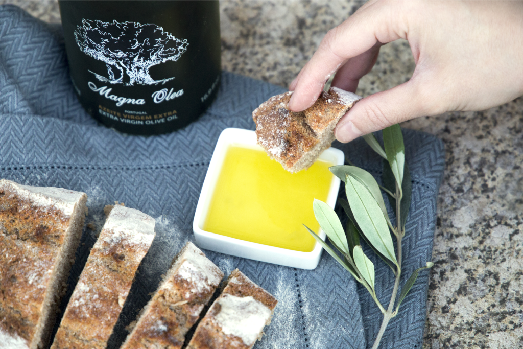 Magna Olea Olive Oil with Artisan Bread